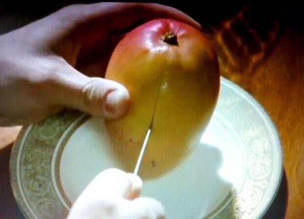 マンゴーの切り方2