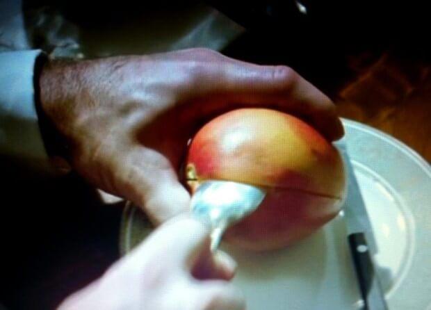 マンゴーの切り方3