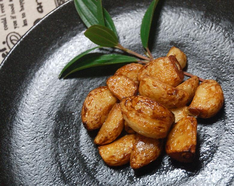 にんにくの素揚げレシピ