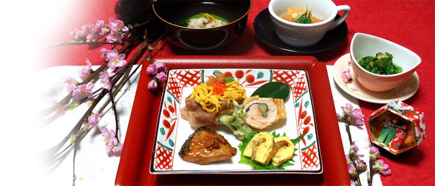 思い出のひな祭り料理・・・牛肉と高野豆腐の手まり寿司