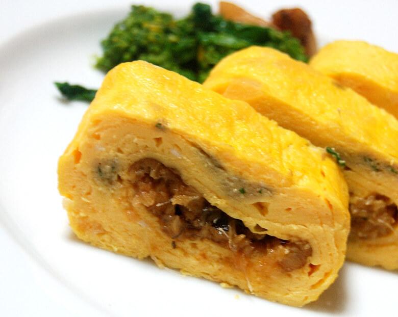 アナゴ巻き(卵焼き)