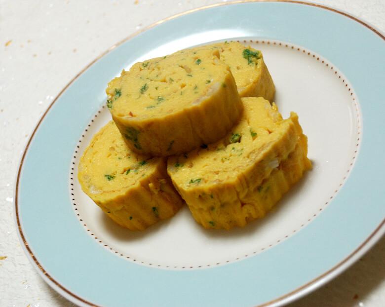 卵焼き(玉ねぎ・焼きにんにく入り)