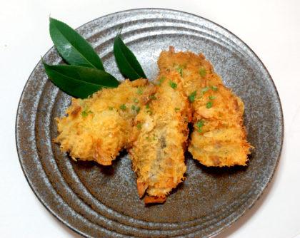 広島産牡蠣のにんにくフライ