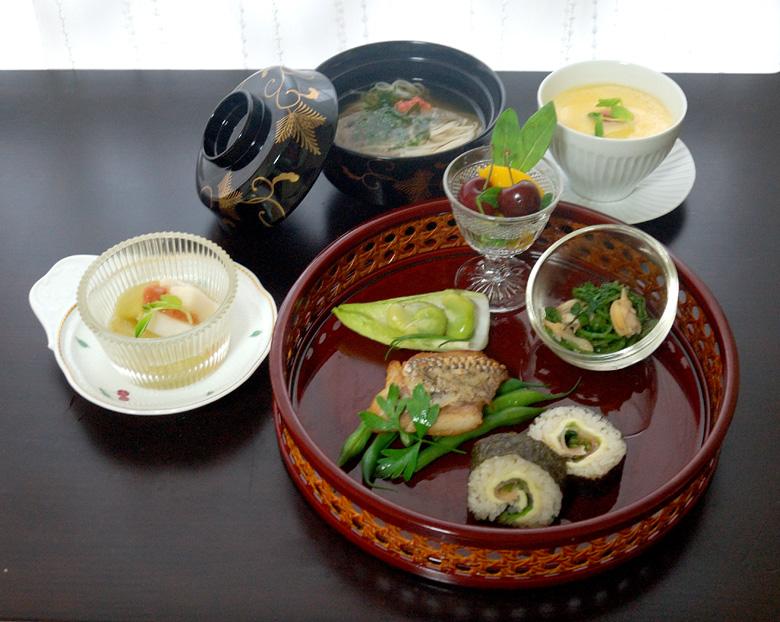 6月の会席料理