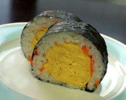 だし巻卵の巻き寿司