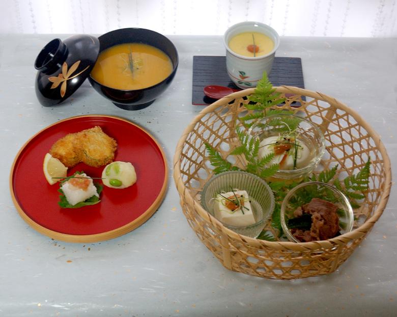 7月の会席料理