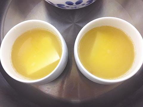 茶碗蒸しを蒸す