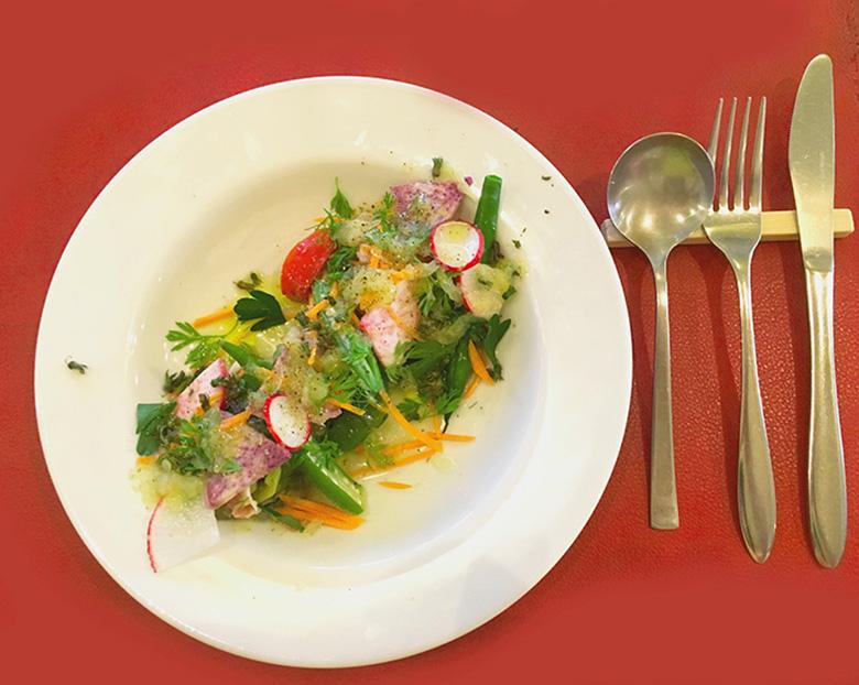 糸島の自家製 野菜たっぷり盛り
