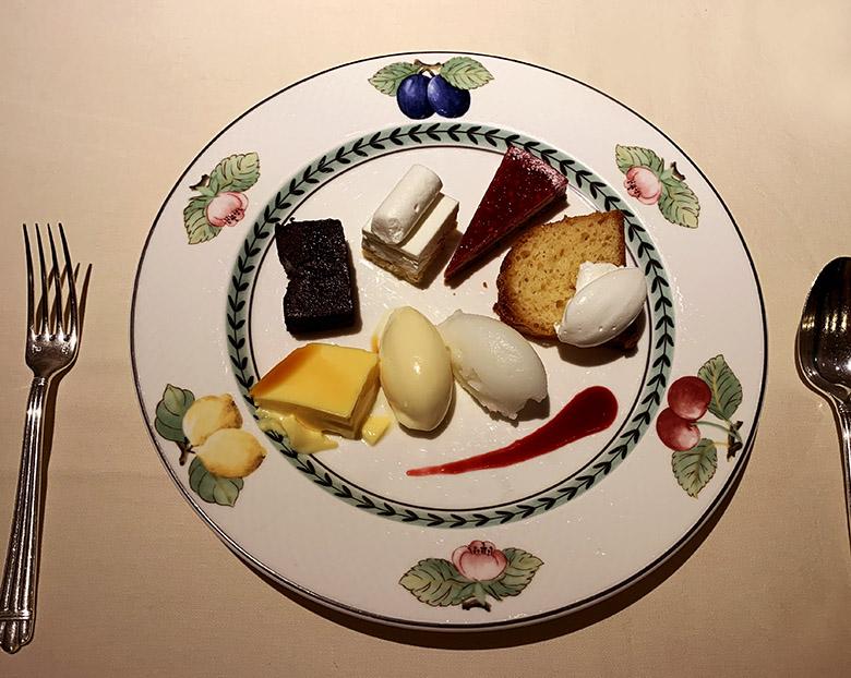 デザート5種盛り合わせ