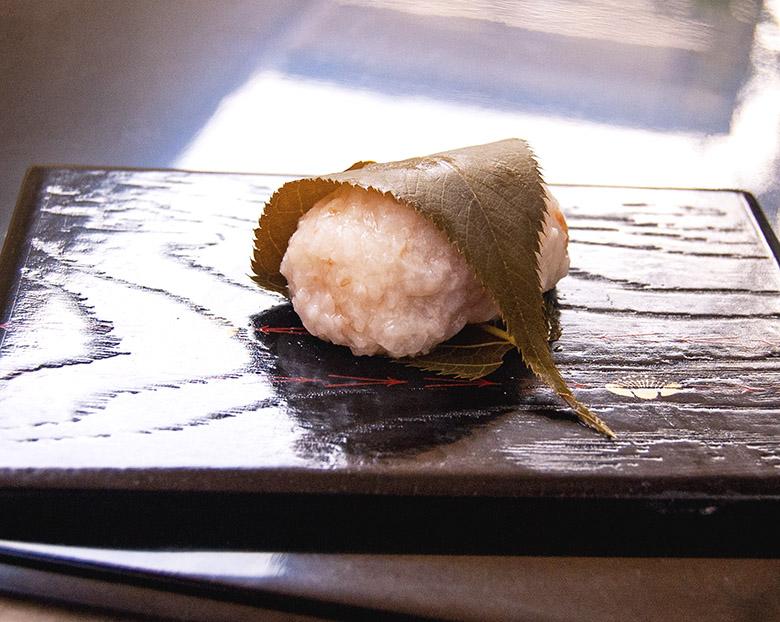 桜餅(はちみつ梅/桜あん)