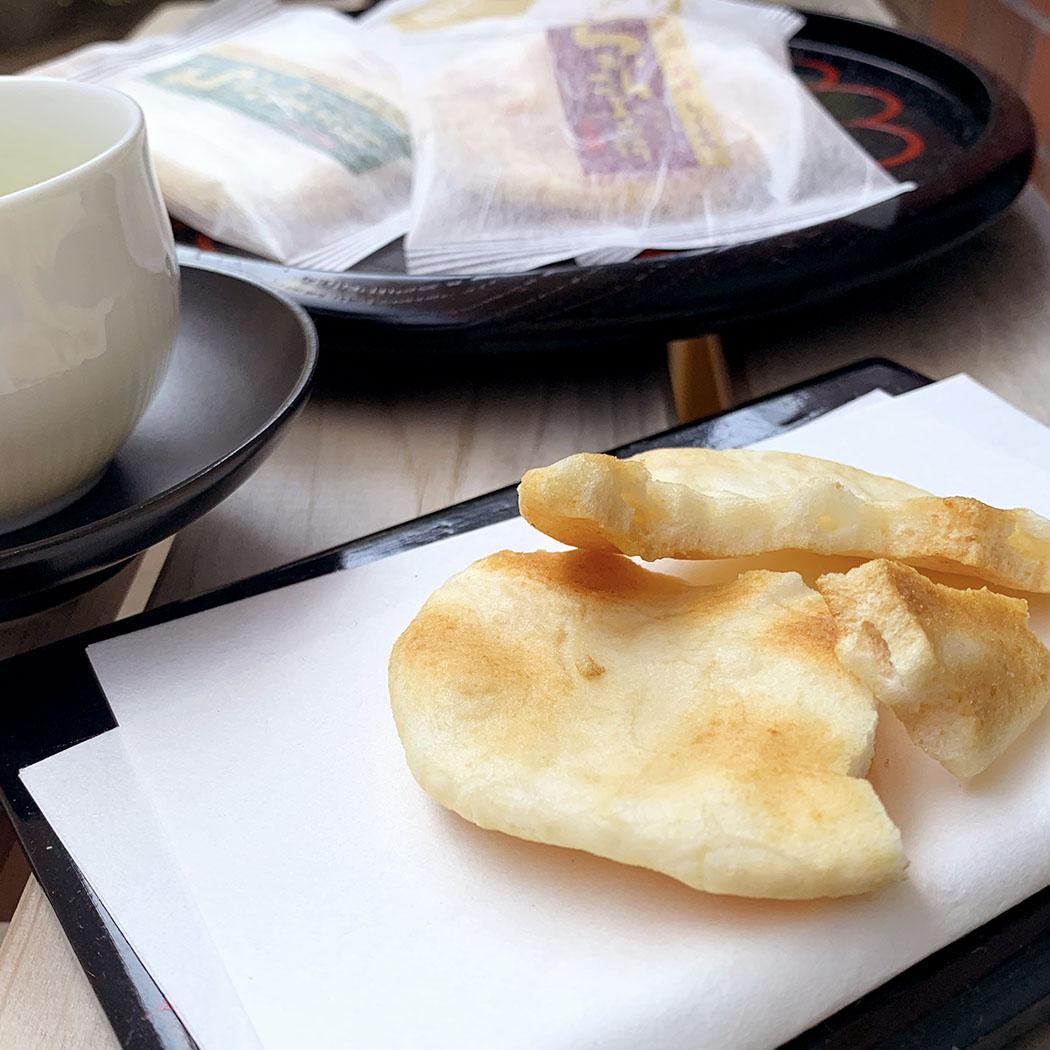 ちからこぶ煎餅(サラダ味・しょうゆ味)