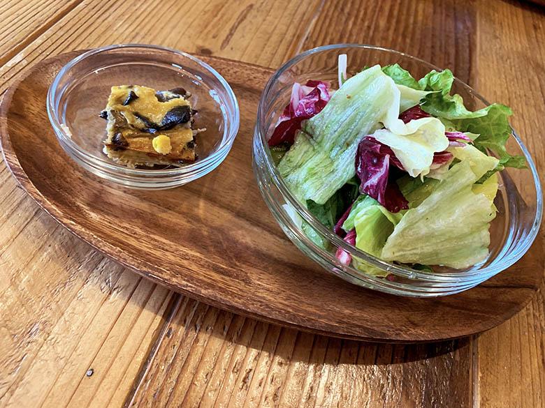 前菜 サラダ