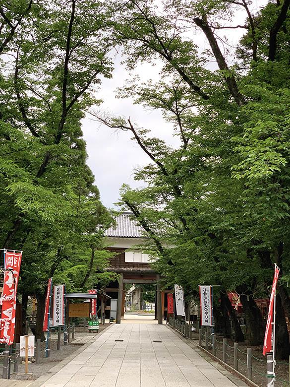 上田城櫓門 裏面
