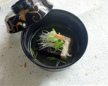 豆腐の落とし梅