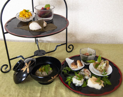 5月の会席料理