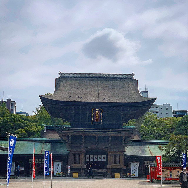筥崎宮 社殿