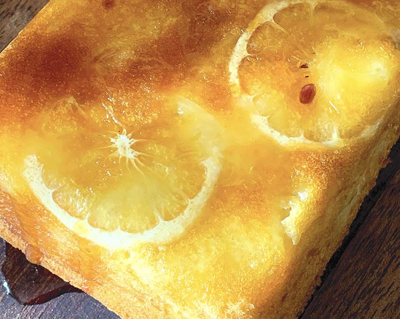 蜂蜜レモンとヨーグルトのケーキ