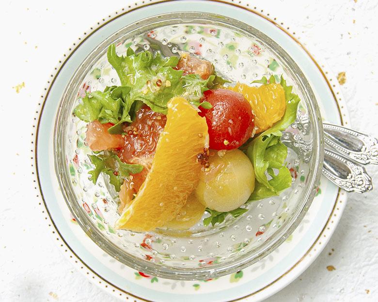 グループフルーツ・ネーブルのフルーツサラダ